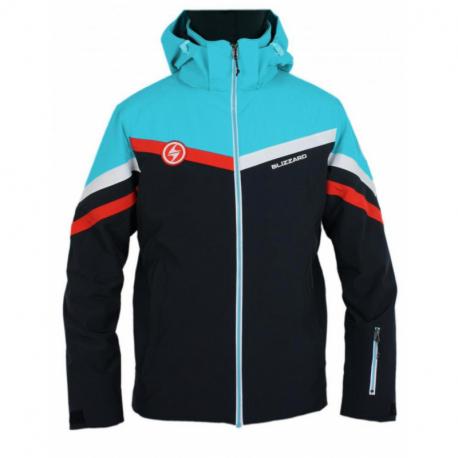 Pánská lyžařská bunda BLIZZARD-II. qua Ski Jacket Kitz, black / blue