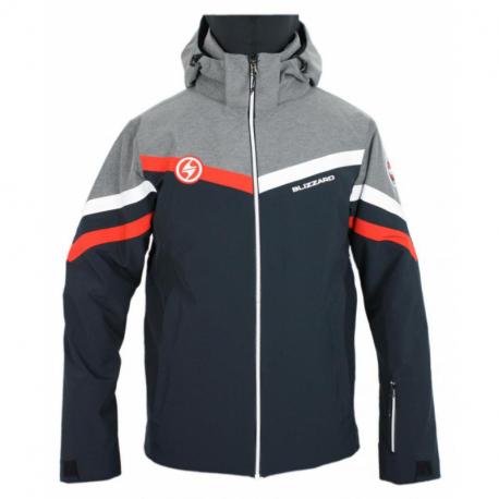 Pánská lyžařská bunda BLIZZARD-II. qua Ski Jacket Kitz, black / melange