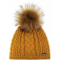 Zimná čiapka EISBÄR-Afra Lux MÜ Yellow