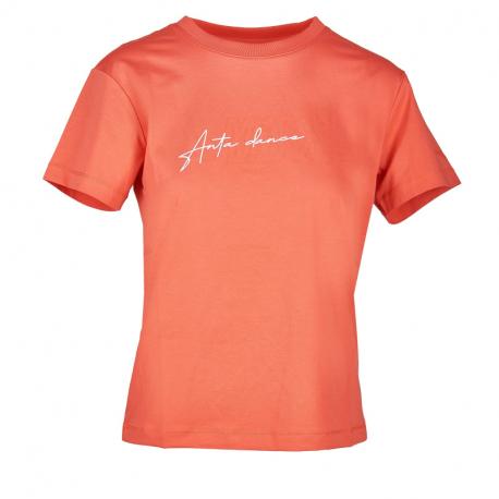Dámske tričko s krátkym rukávom ANTA-SS Tee-WOMEN-Living Coral Orange-862027156-2
