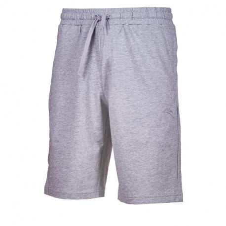 Pánske teplákové kraťasy ANTA-Knit Half Pants-MEN-Heather Grey-852027329-1