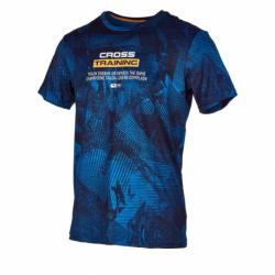 Pánske tréningové tričko s krátkym rukávom ANTA-SS Tee-MEN-Russell Blue-852027123-1