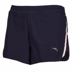 Dámske bežecké kraťasy ANTA-Woven Shorts-WOMEN-Basic Black/pink fruit-862025527-2