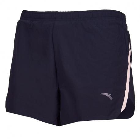 Dámské běžecké kraťasy ANTA-Woven Shorts-WOMEN-Basic Black / pink fruit-862025527-2