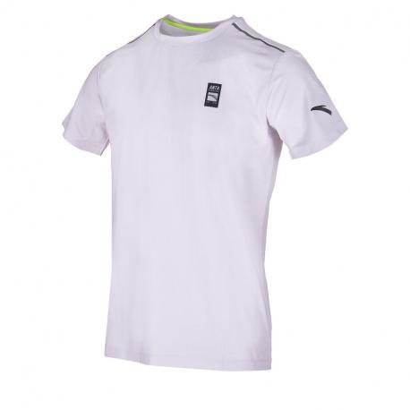 Pánské běžecké tričko s krátkým rukávem ANTA-SS Tee-MEN-Light Silver Grey-852025121-4