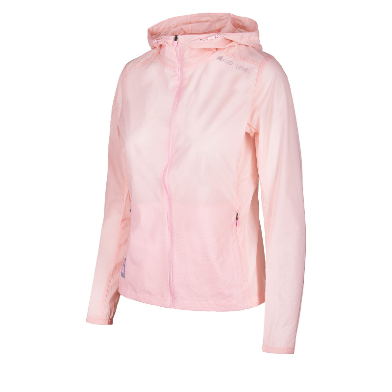 Dámska bežecká bunda ANTA-Single Windbreaker-WOMEN-Fruit Pink-862025609-5 -