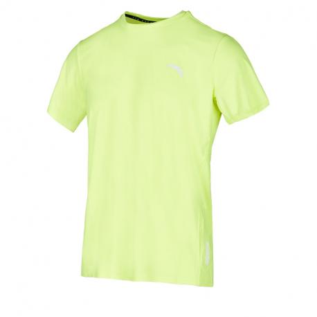 Pánské běžecké tričko s krátkým rukávem ANTA-SS Tee-MEN-Luminance Green-852025119-7
