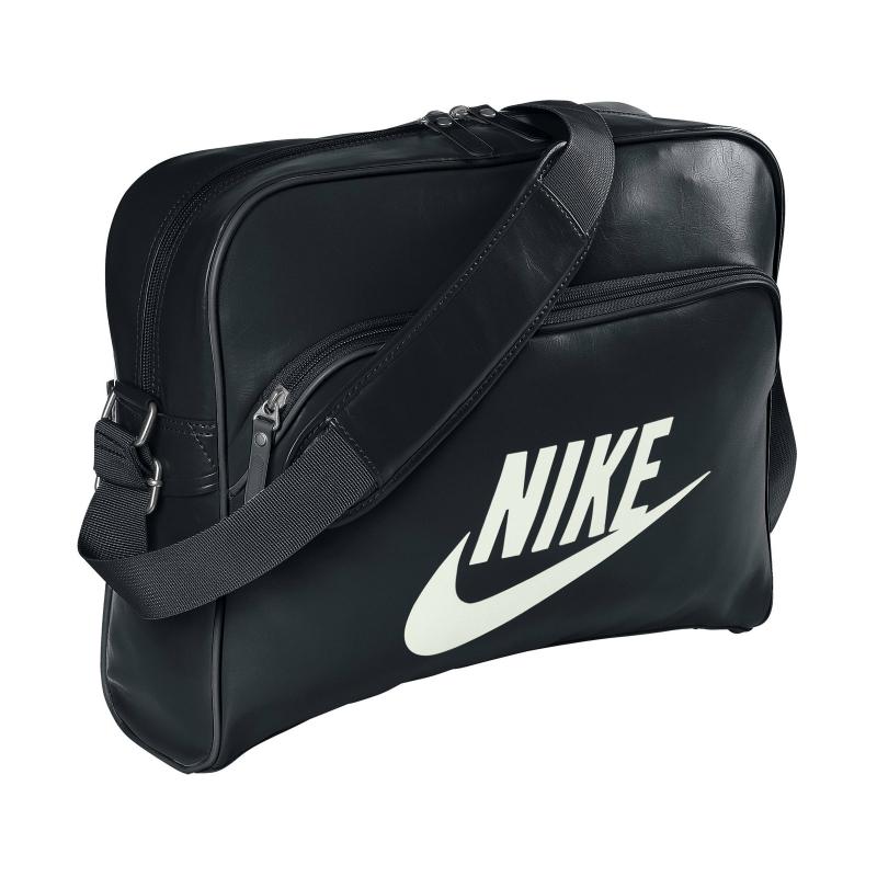 6361c9913b Taška cez rameno NIKE-HERITAGE SI TRACK BAG Black -