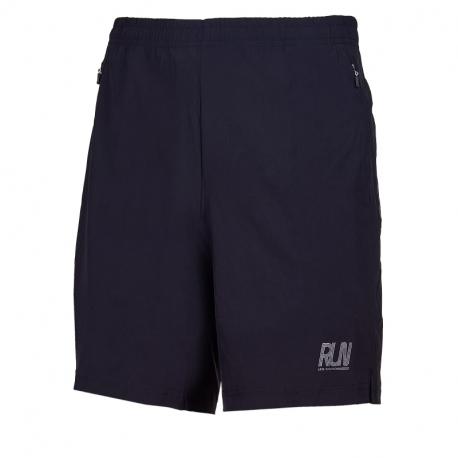 Pánské běžecké kraťasy ANTA-Woven Shorts-MEN-Basic Black / Light Silver Grey-852025526-3