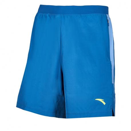 Pánské běžecké kraťasy ANTA-Woven Shorts-MEN-Sunset Blue / Gray Space-852025527-4