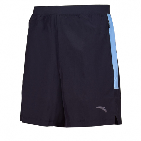 Pánské běžecké kraťasy ANTA-Woven Shorts-MEN-Basic Black / Grey space-852025527-7