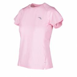 Dámske bežecké tričko s krátkym rukávom ANTA-SS Tee-WOMEN-Fruit Pink/Heather Grey-862025139-3