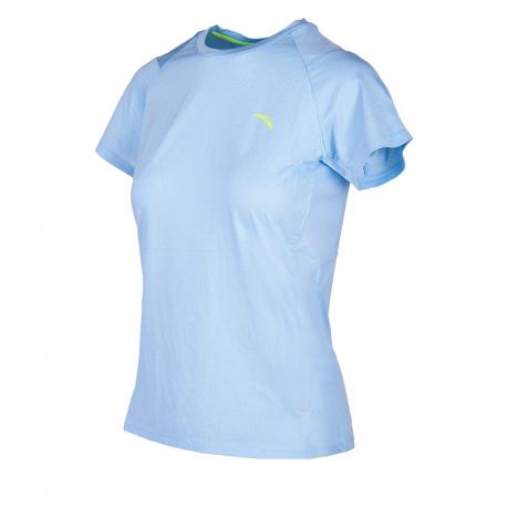 Dámské běžecké tričko s krátkým rukávem ANTA-SS Tee-WOMEN-Sky Blue-862025139-2