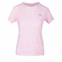 Dámske bežecké tričko s krátkym rukávom ANTA-SS Tee-WOMEN-Fruit Pink/Heather Grey-862025118-5 -