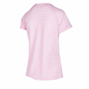 Dámské běžecké tričko s krátkým rukávem ANTA-SS Tee-WOMEN-Fruit Pink / Heather Grey-862025118-5 -