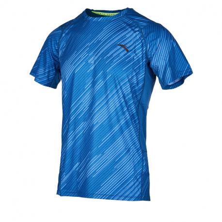 Pánske bežecké tričko s krátkym rukávom ANTA-SS Tee-MEN-Sunset Blue-852025134-2
