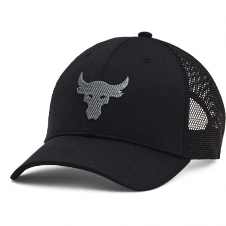 Pánska šiltovka UNDER ARMOUR-Project Rock Trucker-BLK