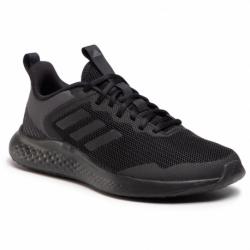 Pánska športová obuv (tréningová) ADIDAS-Fluidstreet core black/core black/grey six (EX)