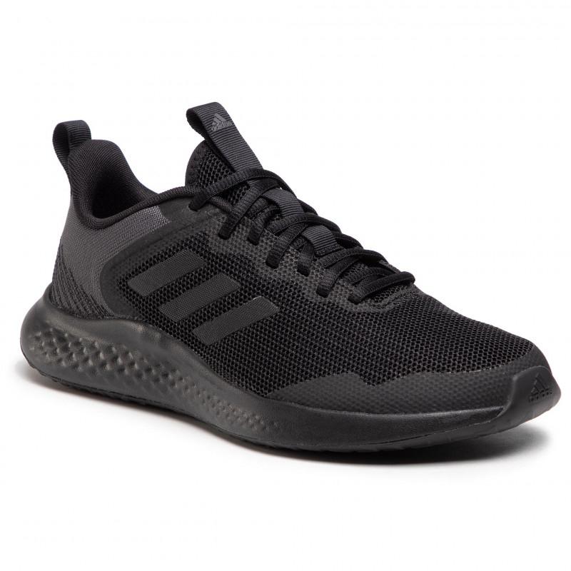 ADIDAS-Fluidstreet core black/core black/grey six (EX) 46 Čierna
