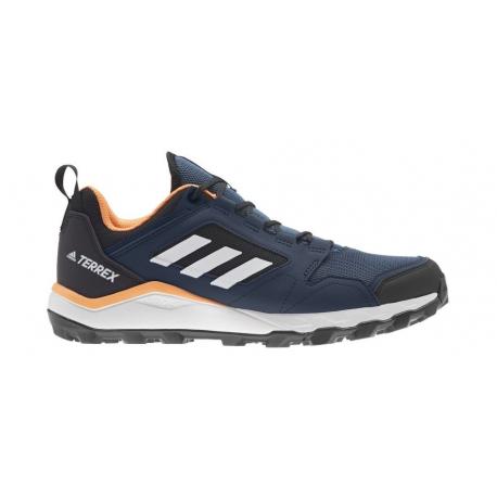 Pánska trailová obuv ADIDAS-Terrex Agravic TR crew navy/cloud white/hazy blue (EX)