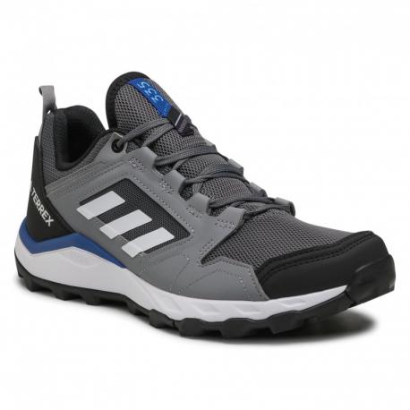 Pánska trailová obuv ADIDAS-Terrex Agravic TR grey four/cloud white/grey three (EX)