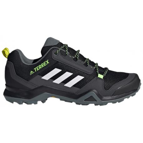 Pánska turistická obuv nízka ADIDAS-Terrex AX3 core black/cloud white/acid yellow (EX)