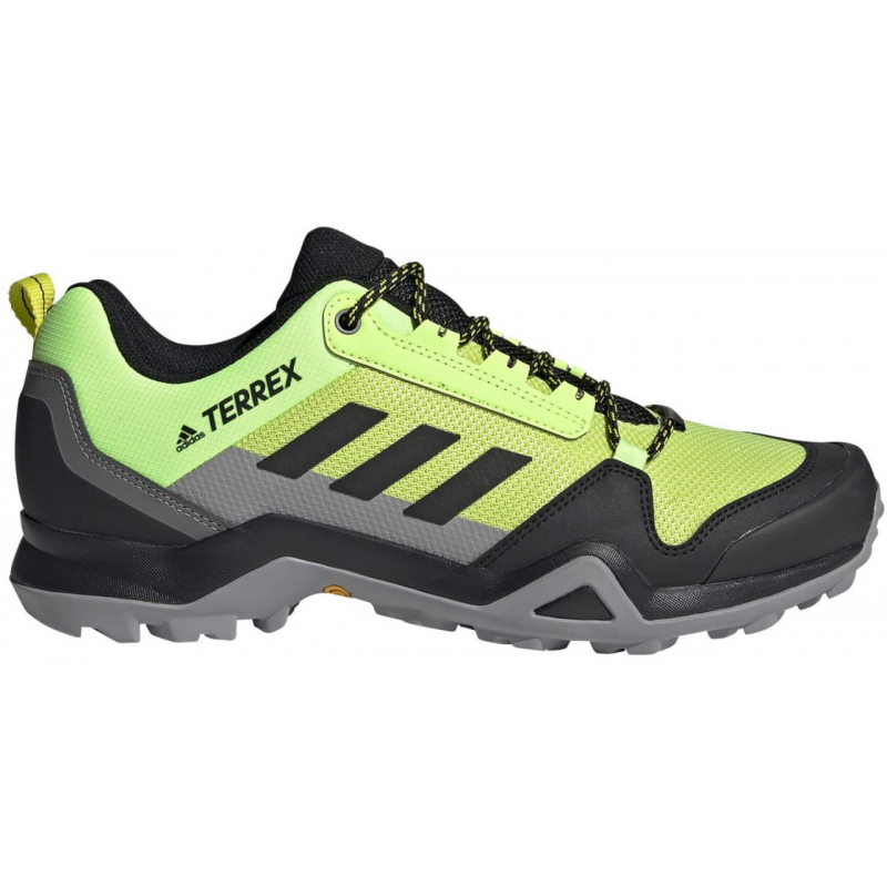 ADIDAS-Terrex AX3 acid yellow/core black/grey one 44 Zelená