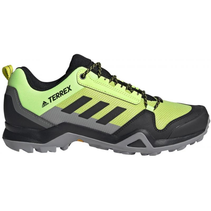 ADIDAS-Terrex AX3 acid yellow/core black/grey one (EX) 46 Zelená