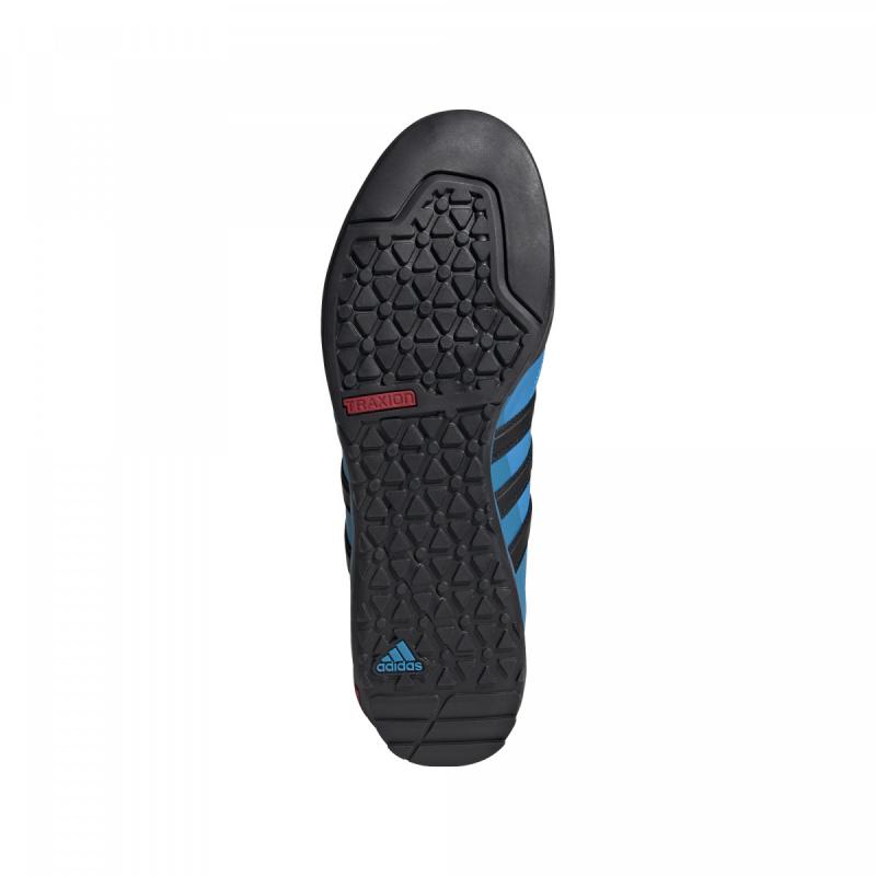 Pánska turistická obuv nízka ADIDAS-Terrex Swift Solo dark solar blue/core black/solar blue -