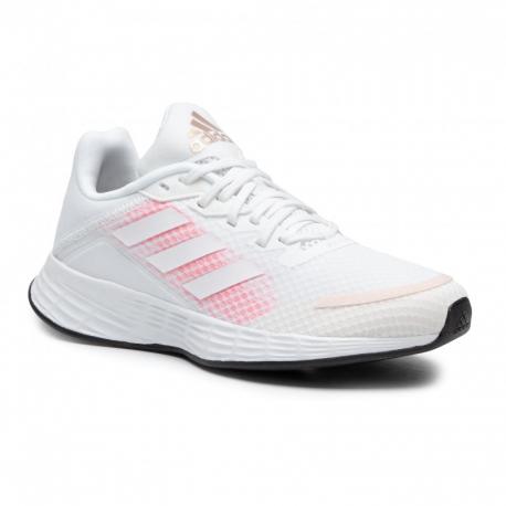 Dámská sportovní obuv (tréninková) ADIDAS-Duramo SL ftwwht / ftwwht / sigpnk