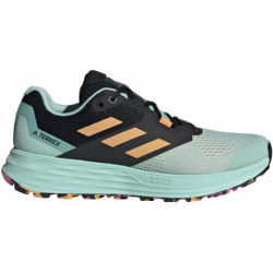 Dámska trailová obuv ADIDAS-Terrex Two Flow clear mint/hazy orange/screaming pink