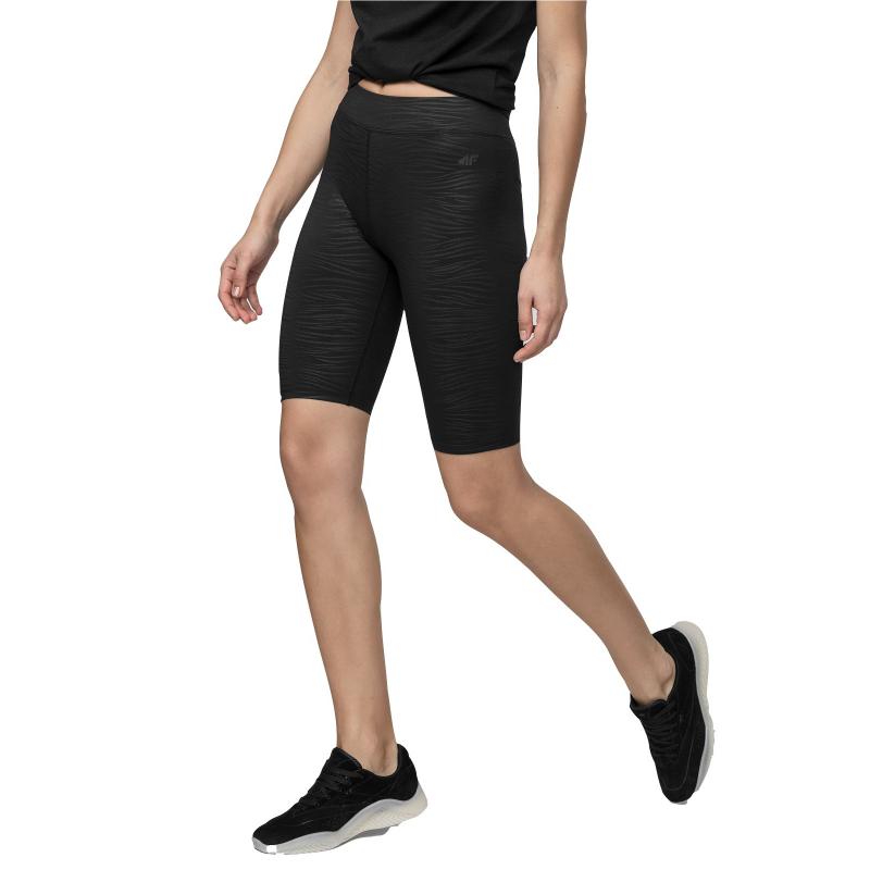 Dámske tréningové 3/4 nohavice 4F-WOMENS LEGGINGS-H4L21-LEG015-92A-MULTICOLOUR 2 ALLOVER -