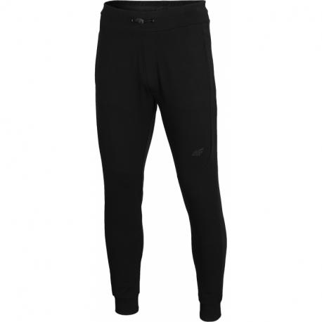 Pánske teplákové nohavice 4F-MENS TROUSERS-H4L21-SPMD011-20S-DEEP BLACK