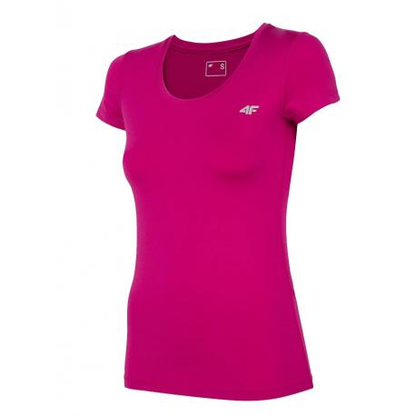 Dámské tréninkové tričko s krátkým rukávem 4F-WOMENS FUNCTIONAL T-SHIRT-NOSH4-TSDF002-54S-PINK