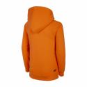 Chlapecká mikina s kapucí 4F-BOYS-MIDLAYER-HJL21-JBLM002B-70S-Orange -