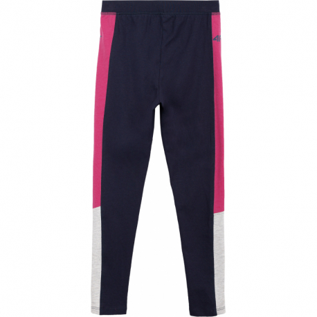 Dievčenské legíny 4F-GIRLS-leggings-HJL21-JLEG002-31S-Blue