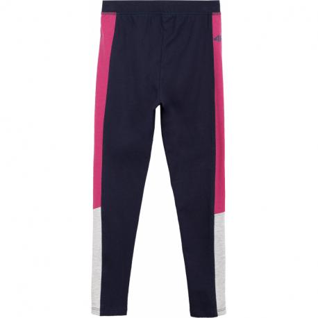 Dívčí legíny 4F-GIRLS-leggings-HJL21-JLEG002-31S-Blue