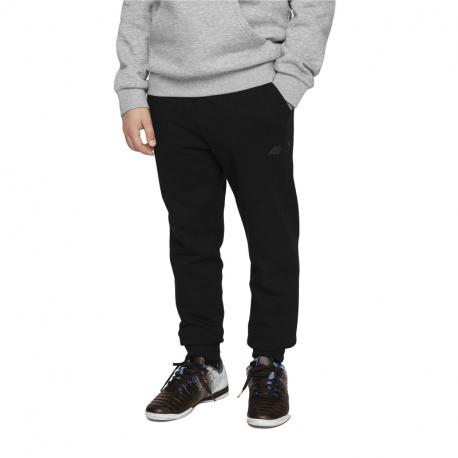 Chlapecké teplákové kalhoty 4F-BOYS-pants-HJL21-JSPMD001-20S-Black