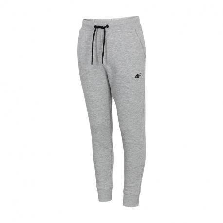 Chlapecké teplákové kalhoty 4F-BOYS-pants-HJL21-JSPMD001A-27M-Grey