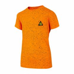 Chlapčenské tričko s krátkym rukávom 4F-BOYS-t-shirt-HJL21-JTSM006C-70S-Orange