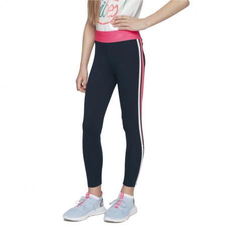 Dívčí legíny 4F-GIRLS-leggings-HJL21-JLEG004-31S-Blue