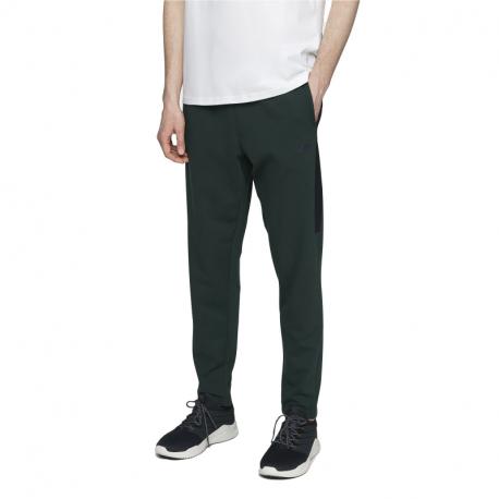 Pánske teplákové nohavice 4F-MENS TROUSERS-H4L21-SPMD013-40S-DARK GREEN