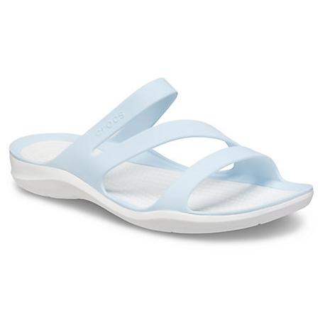 Dámske sandále CROCS-Swiftwater Sandal mineral blue (EX)