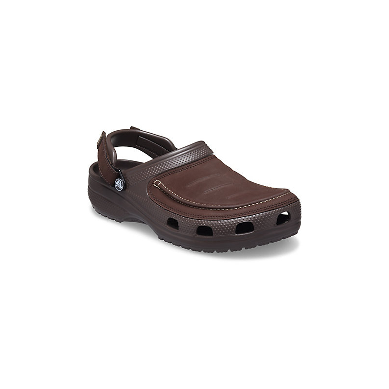Pánské kroksy (rekreační obuv) CROCS-Yukon Vista II Clog M espresso 43/44 Hnědá
