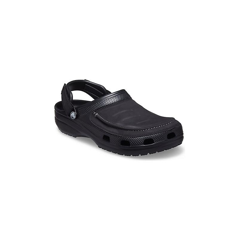 Pánské kroksy (rekreační obuv) CROCS-Yukon Vista II Clog M black (EX) 48/49 Černá
