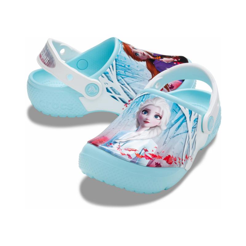 Detské kroksy (rekreačná obuv) CROCS-Ol Disney Frozen 2 Cg K ice blue -