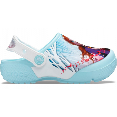 Detské kroksy (rekreačná obuv) CROCS-Ol Disney Frozen 2 Cg K ice blue