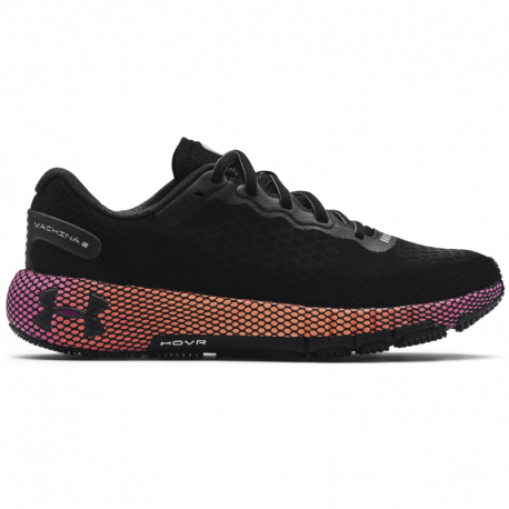 Dámska bežecká obuv UNDER ARMOUR-UA W HOVR Machina 2 black/playful peach/black