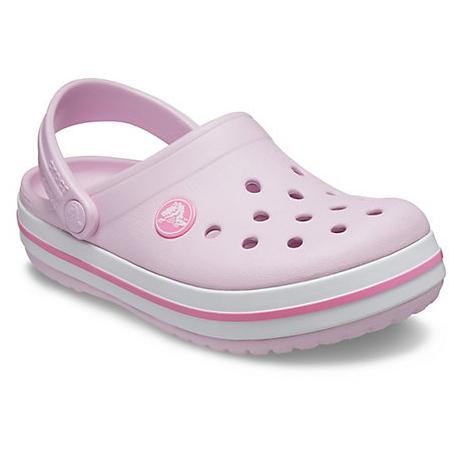 Juniorské kroksy (rekreačná obuv) CROCS-Crocband Clog ballerina pink