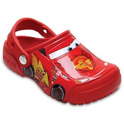Detské kroksy (rekreačná obuv) CROCS-FunLab Cars Clog K flame